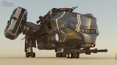 concept ships: Ax 114 Boomslang and AX 115 Bushmaster by Shard Collective