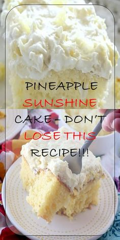 Cake nature fast and easy - Clean Eating Snacks Just Desserts, Delicious Desserts, Yummy Food, Fluff Desserts, Southern Desserts, Tasty, Cake Mix Recipes, Cookie Recipes, Baking Recipes