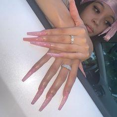 Hold on waaiiittt i need a picture securethe gab Nails kcnails kcnailtech nails nailsonfleek Claw Nails, Aycrlic Nails, Diva Nails, Nail Polishes, Perfect Nails, Gorgeous Nails, Pretty Nails, Nail Swag, Exotic Nails