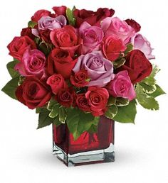 Madly in Love Bouquet with Red Roses by Teleflora in MesaAZ, Flowers Forever