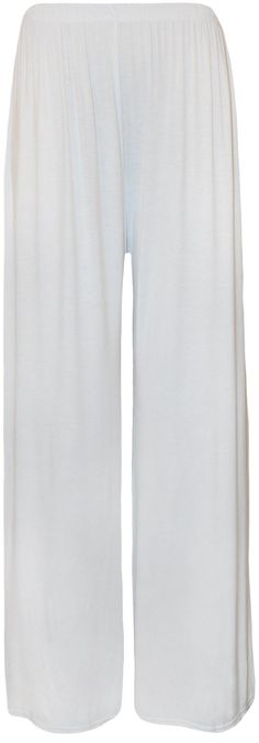 21269aa3ebe WearAll Plus Size Women s Palazzo Trousers at Amazon Women s Clothing store   Another pants option.