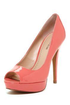 Pour La Victoire Angle Peep Toe Pump on HauteLook Stilettos, High Heels, Cute Shoes, Me Too Shoes, Christian Louboutin, Shoe Boots, Shoes Heels, Azul Tiffany, Shoe Closet