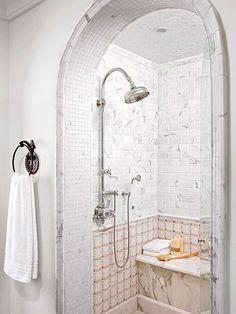 Душ в ванной комнате