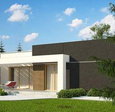 Zx105 B to wyjątkowy dom z kategorii projekty domów nowoczesnych Home Building Design, Building A House, House Design, House Layout Plans, House Layouts, Plans Architecture, Home Fashion, Mansions, House Styles