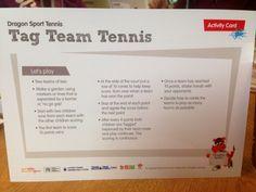 Tag tennis