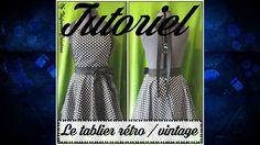 Tuto couture - Coudre un tablier rétro Plus