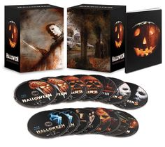 Halloween: The Complete Collection (Limited Deluxe Edition) [Blu-ray] #halloween #shopholloween #pumpkin