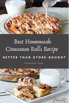Homemade Cinnamon Rolls Recipe   The WHOot