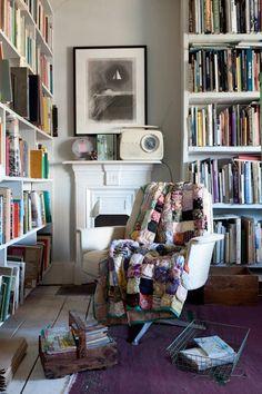 cozy home library #booklove