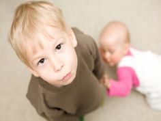 Does your toddler have a case of new baby jealousy? Here's how deal.