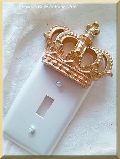 Crown Single Toggle Wall Plate..Color Coices