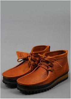 Clarks Wallabee Low Shoe Cognac