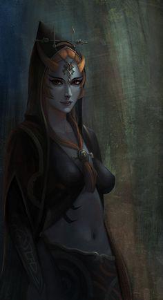 Jeu vidéo : Twilight Princessby yagaminoue /Midona / http://yagaminoue.deviantart.com/art/Twilight-Princess-414795681