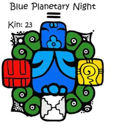 Blue Night | Tone 10 | Planetary | Kin 23 | I perfect in order to dream. Producing intuition. I seal the input of abundance. With the planetary tone of manifestation. I am guided by the power of magic.
