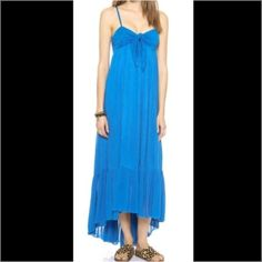 NWT Free People Maxi Dress Multi layer hi low hem. Fully lined. 100% cotton. Discount with bundle. Offers welcome. Free People Dresses Maxi