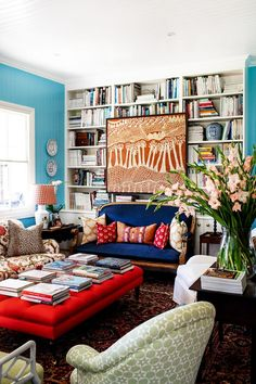 Small Eclectic Living Room For The Home Cottage Living