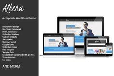 Check out Alhena Corporate WordPress theme by ThemeinProgress on Creative Market