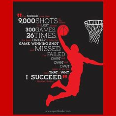 Michael Jordan motivational quotes help to inspire athletes of all kind. The best Michael Jordan motivational quotes. Sport Basketball, Basketball Motivation, Love And Basketball, Jordan Basketball, Basketball Stuff, Basketball Drills, Basketball Court, Basketball Players, Girls Basketball Quotes