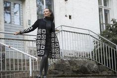 Naisen virkattu ja neulottu jakku Novita 7 Veljestä | Novita knits