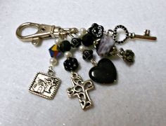 Horse Bridle Jewelry Purse Charm Key Ring Clip by UniversalCharm