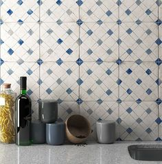 Ceramic wall tiles made in Italy Floral Texture, Spanish Tile, Shabby, Ceramic Wall Tiles, Kitchen Tiles, Decoration, Tile Floor, Sink, Design
