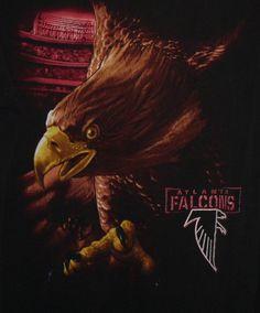 Atlanta Falcons Falcon T-Shirt NFL Mens size L