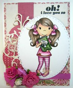 July 2015 DT project for The Paper Nest Dolls, using Diary Emma, created by Leah Tees, odetopaper.blogspot.ca