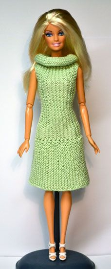 Barbie Basics Knitting Patterns : Images about barbie clothes knitted on pinterest