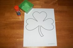Every Star Is Different: St. Patrick's Day Tot School w/ Free Printables