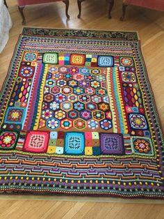 Inspiratie voor een gehaakte deken