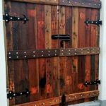 Repurposed Wooden Pallets Made Gate