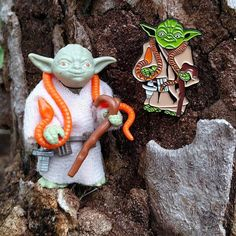 Repost @bleedingedges  New pin alert! #BxEbuttons brings you a tribute to the tiniest Jedi master #Yoda as he was interpreted for the original #Kenner action figure. Get one at http://ift.tt/1R4DvCE #StarWars  #enamelpins #lapelpin #enamelpin #pingame #patchgame #pinstagram #pingang #lapelpins #pins4sale #starwarstoys    (Posted by https://bbllowwnn.com/) Tap the photo for purchase info.  Follow @bbllowwnn on Instagram for the best pins & patches!