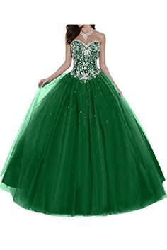 Gorgeous Bride Elegant Herzform Lang A-Linie Ballon Tuell Satin Abendkleider Festkleid Ballkleid -32 Gruen Gorgeous Bride http://www.amazon.de/dp/B016LP06TW/ref=cm_sw_r_pi_dp_7s-lwb1BN43TW