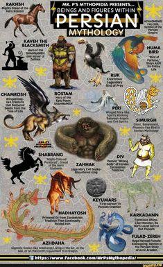 #mythology, #Persian