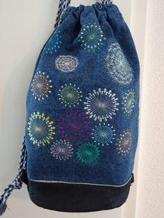 Rucksack mit Fantasiemuster 2 Drawstring Backpack, Fashion Backpack, Backpacks, Bags, Patterns, Handbags, Backpack, Backpacker, Bag