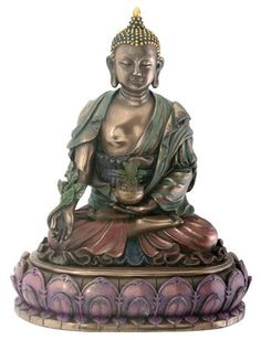 Amazon.com: StealStreet Buddhist Healing Medicine Religious Figurine: Home & Kitchen