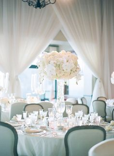 Featured Photographer: Elizabeth Messina Photography; wedding reception idea