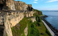 Puerto Rico- El Morro, Mosquito Bay, Fort San Cristobal, Calle del Cristo, Sun Bay, Carolina Beach, El Yunque National Rainforest, Luquillo Beach, Condado Beach, Parque de las Cavernas del Rio