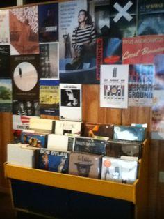 Local Vinyl Shop.