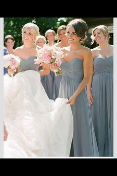 <3 these bridesmaid dresses