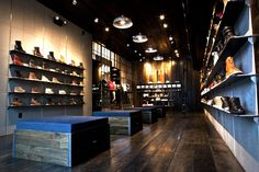 Kith shoe store by Cleanroom, Brooklyn store design eco