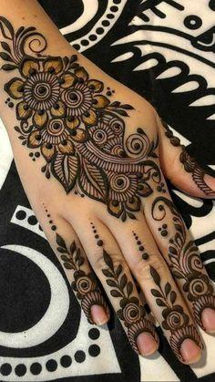Finger Mehendi Designs, Full Hand Mehndi Designs, Stylish Mehndi Designs, Bridal Henna Designs, Mehndi Design Images, Dulhan Mehndi Designs, Mehndi Designs For Hands, Henna Tattoo Designs, Tattoo Ideas