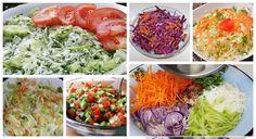 Šaláty, ktoré vám pomôžu prečistiť organizmus a vyplaviť nadbytočné kilá. A čo je najlepšie, tieto šaláty sú aj veľmi chutné a hneď pripravené. Food To Make, Detox, Cabbage, Vegetables, Fit, Recipes, Red Peppers, Shape, Recipies