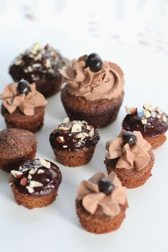 nutella brOwnie bites