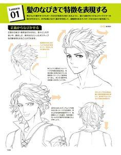 Manga Drawing Tips 148 Manga Drawing Tutorials, Manga Tutorial, Sketches Tutorial, Drawing Techniques, Drawing Tips, Art Tutorials, Drawing Hair, Drawing Ideas, Hair Reference
