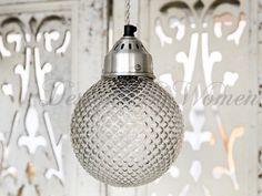 Lampa sufitowa szklana Ronda