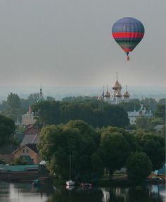 Hot Air Ballooning over Russia II - Pixdaus