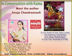 Anuja Chandramouli: The Hopeless Blogger!: EVENT ALERT!