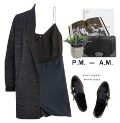 """""""- P.M A.M -"""" by lolgenie ❤ liked on Polyvore featuring Miista, Rizzoli Publishing, Chanel, 3.1 Phillip Lim, Lux-Art Silks, River Island, women's clothing, women, female and woman"""
