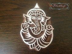 Wood+Block+Printing+Hand+Carved+Indian+Wood+door+BlackleafArt,+$14.50